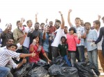 Aadhi Joins Clean India Movement On His Birthday