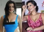 Clash Sex Bombs Sunny Leone Versus Madhuurima