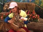 Actress Raai Laxmi Give The Milk Original Tiger