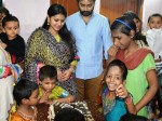 Sneha Celebrates Birthday With Physically Challenged Childre