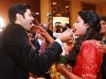 Ganesh Venkatram Nisha Wedding Reception