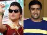 Bowler Ravichandran Ashwin Trisha S Huge Fan