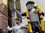 Prabhu Deva Opened Michael Jackson Statue