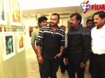 Bobby Simha Inaugurates Ganesh 365 Art Exhibition Chennai