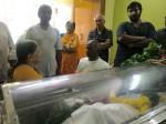 Last Rites Panchu Arunachalam Be Held On Thursday