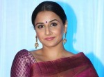 Vidya Balan Is Down With Dengue