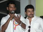 Karthi Vishal Come Together Prabhu Deva