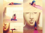 Amala Paul Does Yoga Every Day