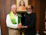 Malaysian Pm Meets Rajinikanth At Chennai