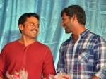 Vishal Makes Fun Karthi S Dance