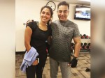Amala Meets Kamal Haasan At Gym