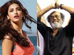 Shruthi Hassan Welcomes Rajini Politics