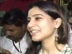 Actress Samantha Offer Prayer Tirupathi