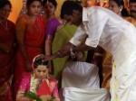 Vishal S Sister Wedding Held Chennai