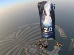 O Audio Launch Special Sky Diving At Dubai
