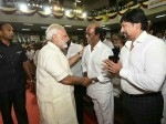 Topstar Prasanth Wore Model Pant While He Met Modi