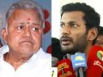 Hearing Radharavi S Case Against Vishal