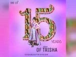Trisha Completes 15 Years Film Industry
