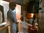 Dhanush Gets Blessings From Ilayaraja