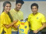 Priya Varrier Meets Sachin
