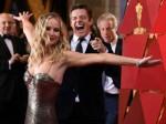 Jennifer Lawrence Has Fall Free Oscars