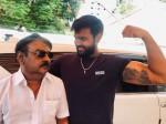 Shanmugapandian Wishes His Father Vijayakanth