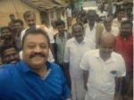 People Blast Suresh Gopi Happy Selfies