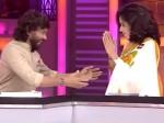 Snehan Tries Hug Mamathi Chari