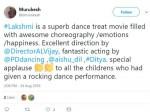 Lakshmi Twitter Review