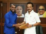 Actor Balaji Met Dmk Leader Mk Stalin