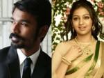 Lakshmi Menon Romance Dhanush