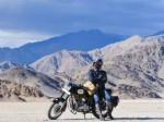 Actor Kishore Drives Bike Himalayas