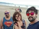 Oviya Aarav S Beach Pic Goes Viral
