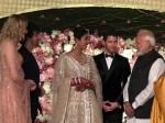 Modi Attends Priyanka Nick Wedding Reception