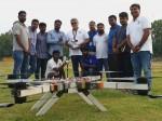Daksha Team Win Three Prizes Drone Olympics