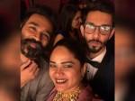 Rajini Dhanush Seen Twinning At Soundarya S Wedding