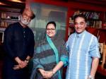 Rajinikanth Invites Kamal Haasan Soundarya S Wedding