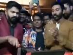 Dhanush Attends Simbu S Birthday Party