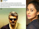 Sri Reddy S Viral Post About Ajith