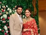 Celebs Attend Arya Sayyeshaa Wedding Reception