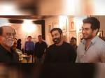 Petta 50th Day Celebration Rajini Seen With Dhanush Vishagan