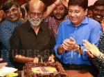 Petta 50th Day Celebration Rajinikanth Cuts Cake