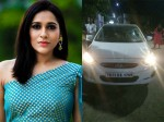 Car Accident Rashmi Gautam Gives Explanation