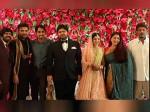 Celebs Attend Kuralarasan S Wedding Reception