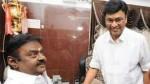 Bhagyaraj And Team Meet Vijayakanth