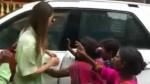 Actress Rakul Preet Singh Stuck In Beggars Crowed