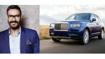 Ajay Devgan Buys Rolls Royce Cullinan