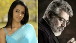 Nerkonda Paarvai Ajith A Superstar Says Trisha