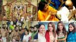 Nayanthara And Trisha Visit Athivarathar Temple