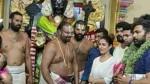 A Photo Of Nayanthara Visiting Athivarathar Is Viral Now